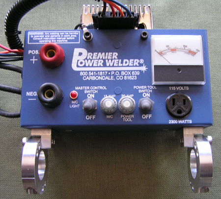 Premier Power Welder with Brackets 1